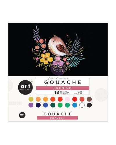 Set 18 colores Gouache de Art Philosophy