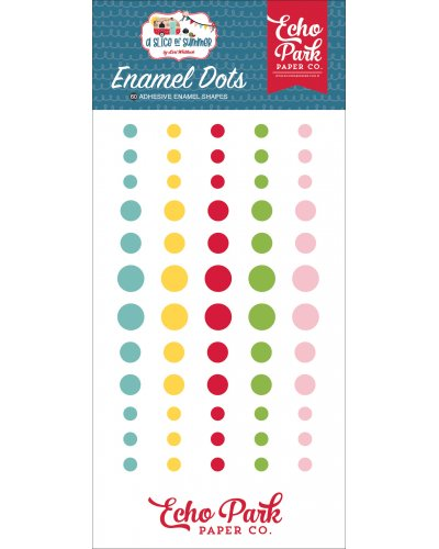Enamel Dots A Slice of Summer de Echo Park