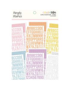 Libro pegatinas Alfabeto Spring de Color Vibe