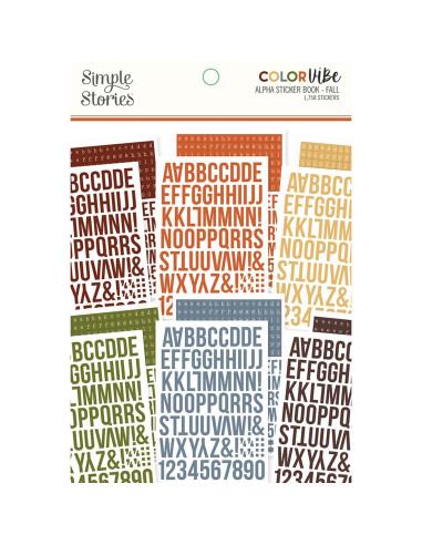 Libro pegatinas Alfabeto Lights de Color Vibe
