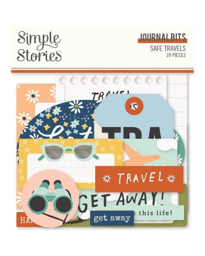 Troquelados Safe Travels de Simple Stories