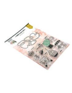Set sello y troquel Èvaison Et Dètente, Dolce Vita de Florilèges