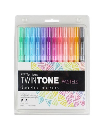 Pack Twintone pastels tombow