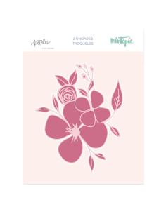 Troquel Ramo de Flores de Mintopía