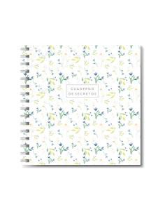 Cuaderno espiral Flores de Mintopía