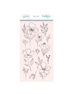 Sello Flores Grandes de Mintopía