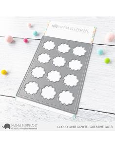 Troquel Cloud Grid Cover de Mama Elephant