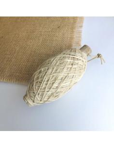 Ovillo cordón lino natural