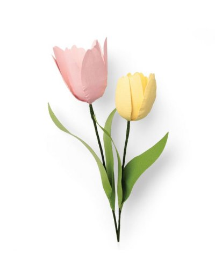 Troquel thinlits Tulipán de Sizzix