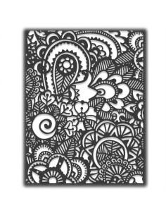 Troquel thinlits Doodle art 2 de Tim Holtz