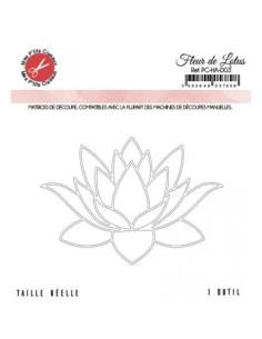 Troquel Flor de Loto de Mes P´tits Ciseaux