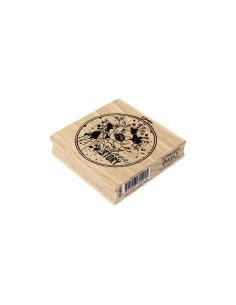 Sello madera Notre Love Story de Florilèges