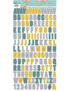 Alfabeto mini The Bloomsbury de Alberto Juárez
