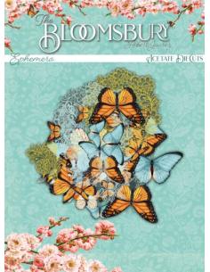 Troquelados de acetato The Bloomsbury de Alberto Juárez