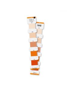 Set hilos bordar Naranja de Lorabailora