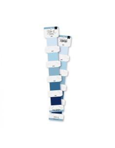 Set hilos bordar Azul Cielo de Lorabailora