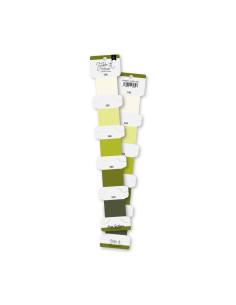 Set hilos bordar Verde Lima de Lorabailora