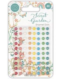 Enamel dots Secret Garden de Craft Consortium