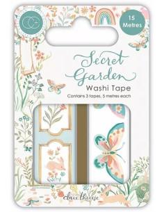 Washi tape Secret Garden de Craft Consortium