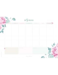 Planificador semanal Esencia de Marisa Bernal