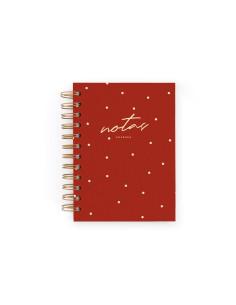 Cuaderno Mini Carmín de Charuca