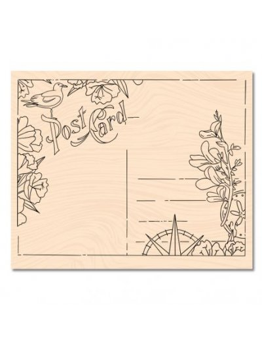 Sello madera Carte Postale de Karine