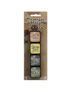Mini Distress ink pad Kit 10