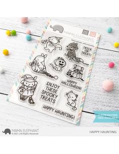 Sello Happy Hauting de Mama Elephant