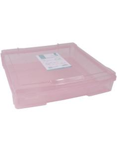 Caja almacenaje rosa de Artis decor