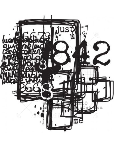 Sello caucho id-940 Mima Molina de AB Studio