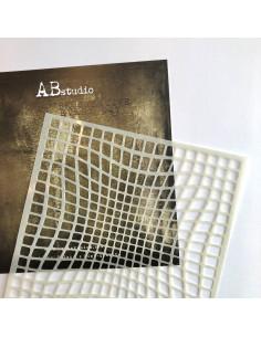 Stencil id-324 Optic illusion AB Studio
