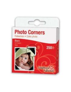 photo corners negros