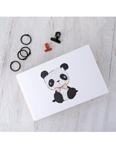Carpeta 4x6'' Panda osito