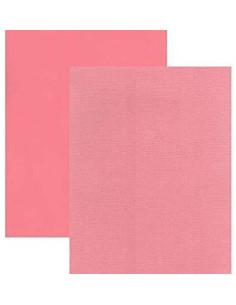 Cartulina Flamingo Perlada texturizada de Bazzil