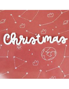 Palabra metacrilato Christmas