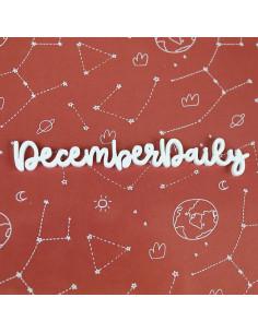 Palabra metacrilato December Daily