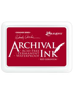 Tinta Archival Red Geranium