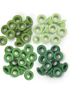 "WeR Eyelets 3/16"" verde"