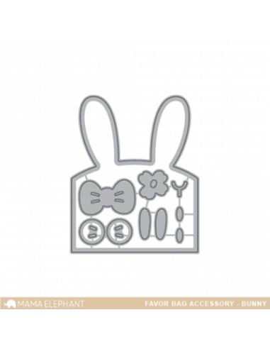 Favor bag bunny