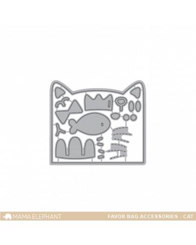 Mama Elephant Favor bag cat dies