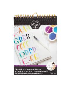 Cuaderno Lettering en Acuarela Kelly Creates