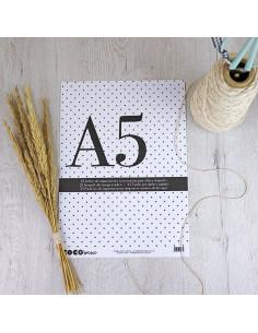 Sobres organización para A5