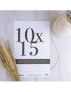 Bolsa organización 10x15cm para sellos