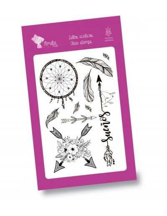 Set de sellos transparentes Boho Amelie Prager