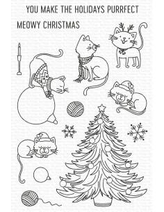 Sello Meowy Christmas de My Favorite Things