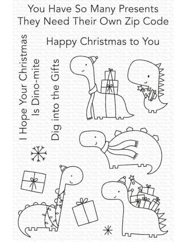 Sello Dino-mite Christmas de My Favorite Things
