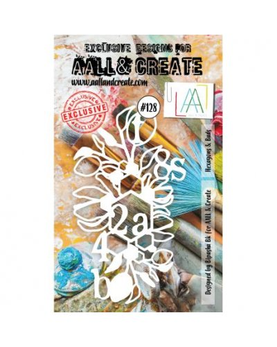 Stencil -128 de AALL and Create