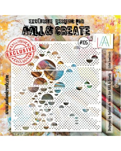 Stencil -125 de AALL and Create