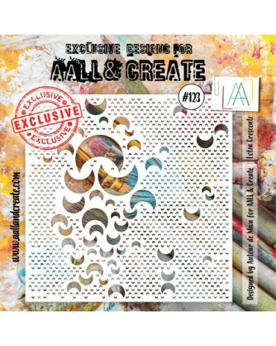 Stencil -123 de AALL and Create