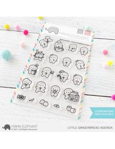 Sello Little Gingerbread Agenda Mama Elephant